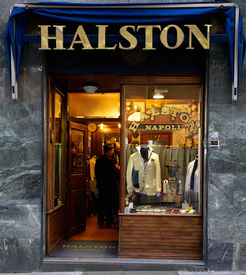 Halston store in Italy