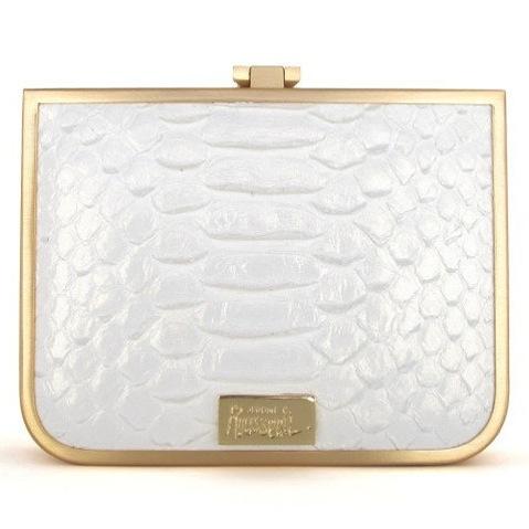 Rousseau snake skin bag
