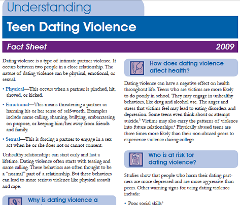 Online dating and domestic violence
