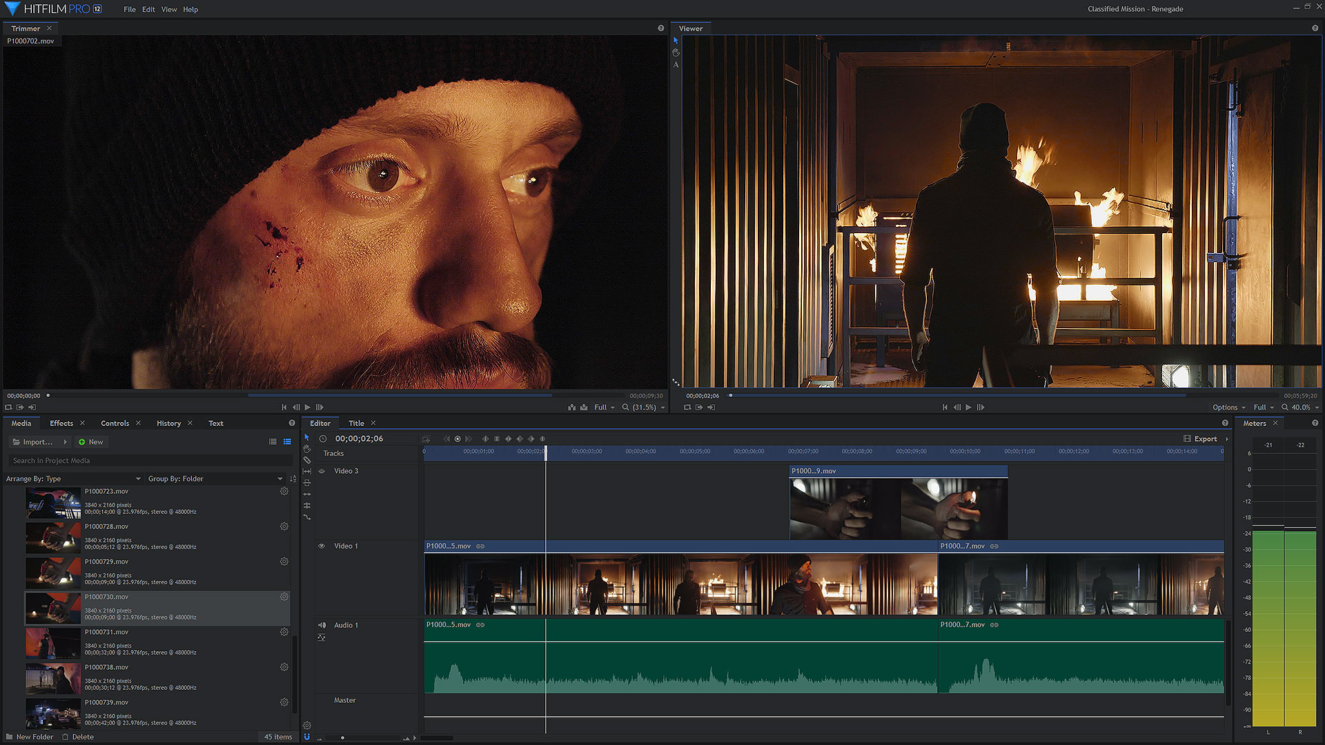 HitFilm Pro full screenshot