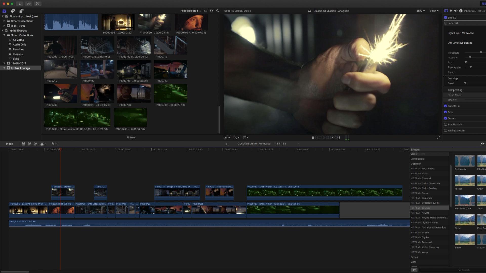 HitFilm Ignite screenshot