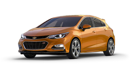 Stock Photo of 2017 Chevrolet Cruze Hatchback