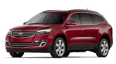 Stock Photo of 2017 Chevrolet Traverse