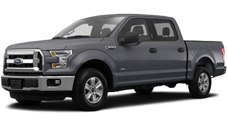Stock Photo of 2015 Ford F-150
