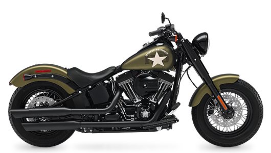 Stock Photo of 2017 Harley-Davidson Softail Slim S