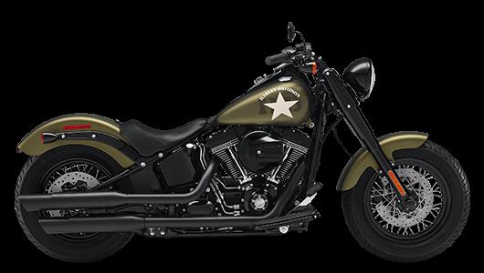 Stock Photo of 2017 Harley-Davidson Softail Slim S