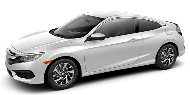 Stock Photo of 2016 Honda Civic Coupe