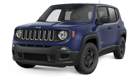 Stock Photo of 2016 Jeep Renegade
