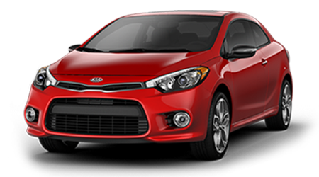 Stock Photo of 2016 Kia Forte Koup