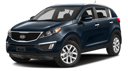 Stock Photo of 2016 Kia Sportage