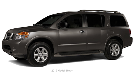 Stock Photo of 2016 Nissan Armada