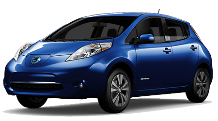 Stock Photo of 2016 Nissan Leaf