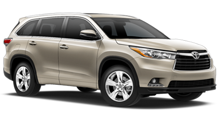 Stock Photo of 2016 Toyota Highlander