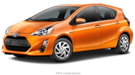 Stock Photo of 2016 Toyota Prius C