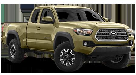 Stock Photo of 2016 Toyota Tacoma