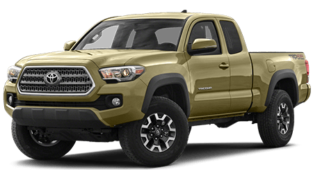 Stock Photo of 2016 Toyota Tacoma