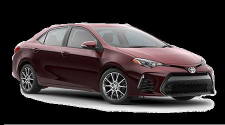 Stock Photo of 2017 Toyota Corolla