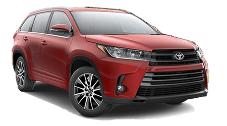 Stock Photo of 2017 Toyota Highlander