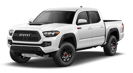 Stock Photo of 2017 Toyota Tacoma