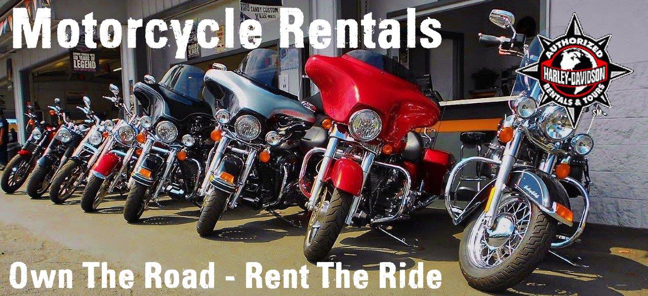 Mortorcycle rentals