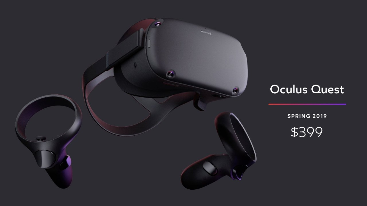 Facebook Announces New Wireless Oculus Quest