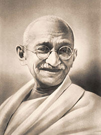 Do you know Mahatma Gandhi mostly known as Gandhi ji?