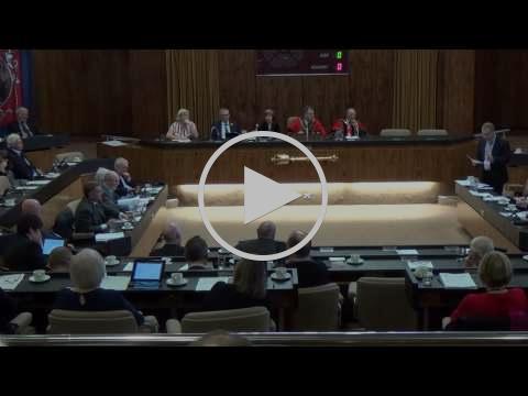 Jonathan Wallace council tax speech Feb 15