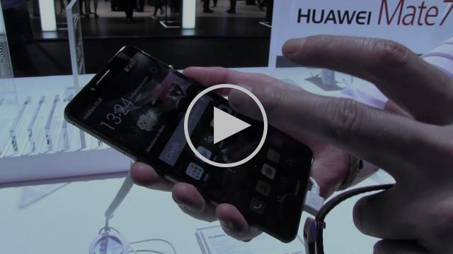 Demostración de Huawei Mate 7 y TalkBand B2