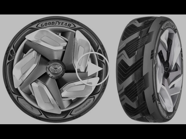 Heat-gathering Goodyear BH03 concept tire charges electric cars on the move