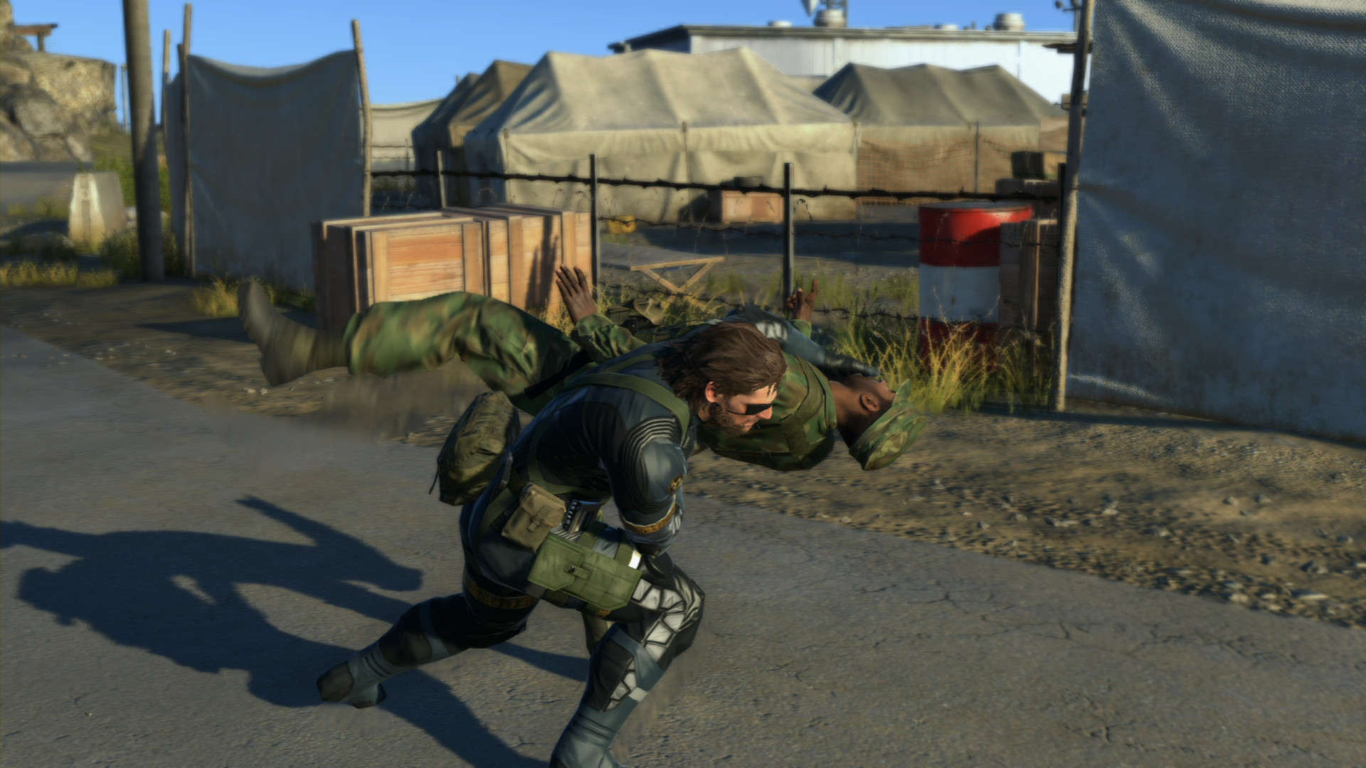 Used Metal Gear Solid V The Definitive Experience Ground Zeroes Game Ps4 Phantom Pain Screenshot