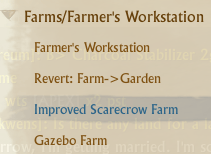 How to craft an Improved Scarecrow Farm.