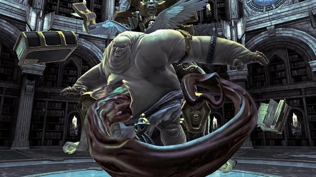 darksiders has always had the dark style that is sometimes grotesque