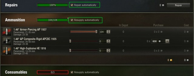 world of tanks guide repairs
