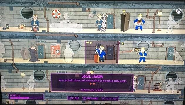 Fallout 4 local leader perk