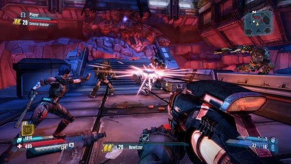 Action-Paction Screen shot from Borderlands: The Pre-Sequel