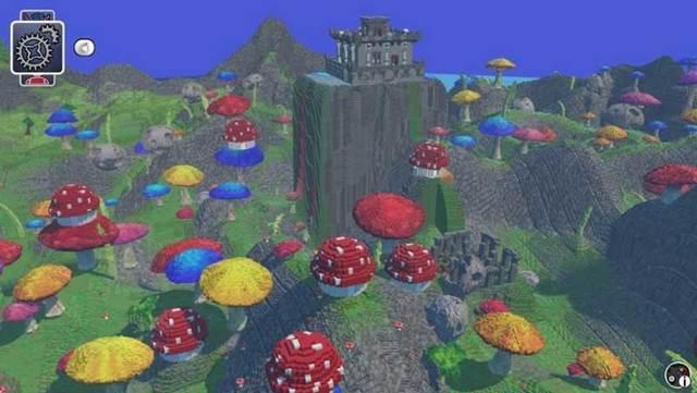 Lego Worlds Generated World
