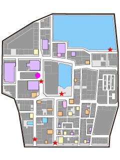 Yakuza 5 Kamurocho map