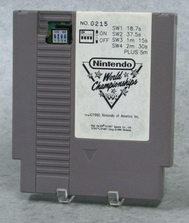 Nintendo World Championships 1990 Cartidge