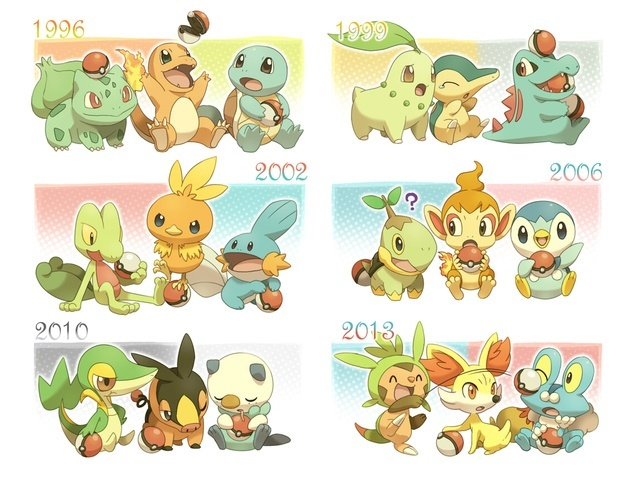 pokemon yellow where to get all starters
