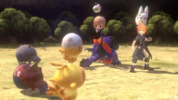 Screenshot from World of Final Fantasy