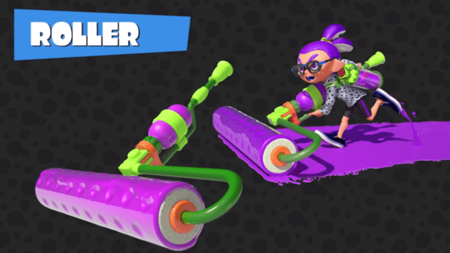 spatoon roller main weapon guide