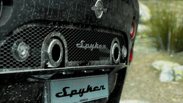 DriveClub Maserati Spyker