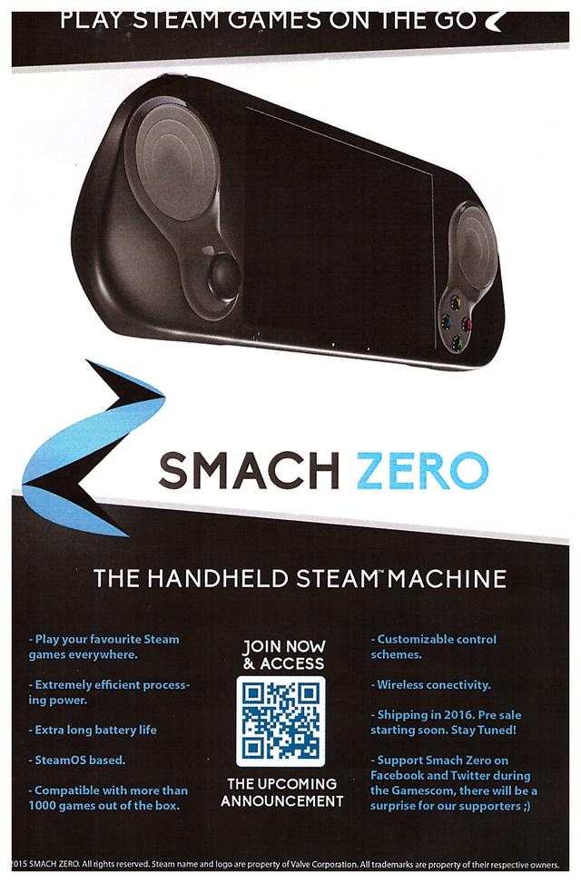 portable steam machine