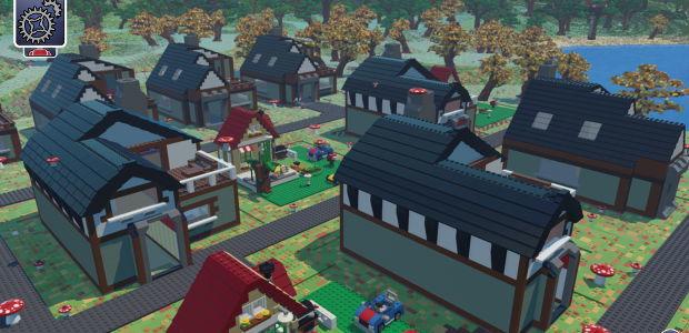 Lego Worlds Village