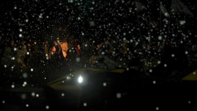DriveClub Snow Bonfire