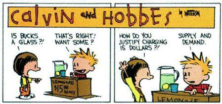 Calvin and Hobbes - Economics 1