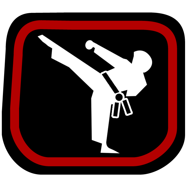 Korean 3 Black Belt Badge