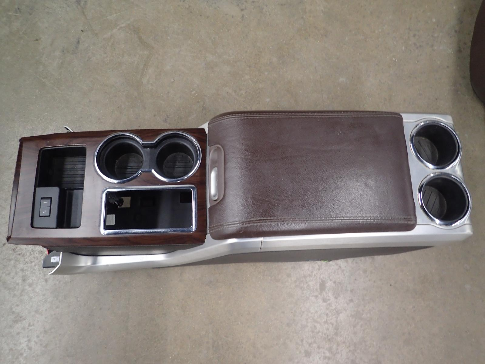 10 Ford F150 Front Floor Console Full Console With Lid