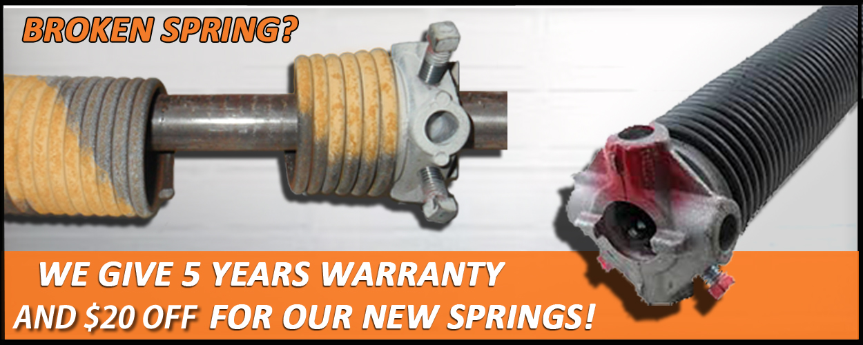 Broken Garage Door Spring garage door springs | garage door repair firestone co