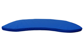 Garden Benches Banana Cushion Electric Blue